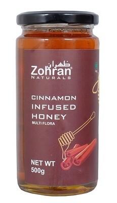 Zohran Natural Cinnamon Infused Honey 500g