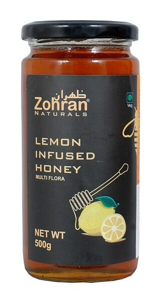 Zohran Natural Lemon Infused Honey 500g