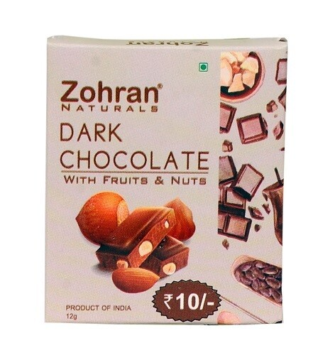Zohran Chocolate With Dry Fruit Small