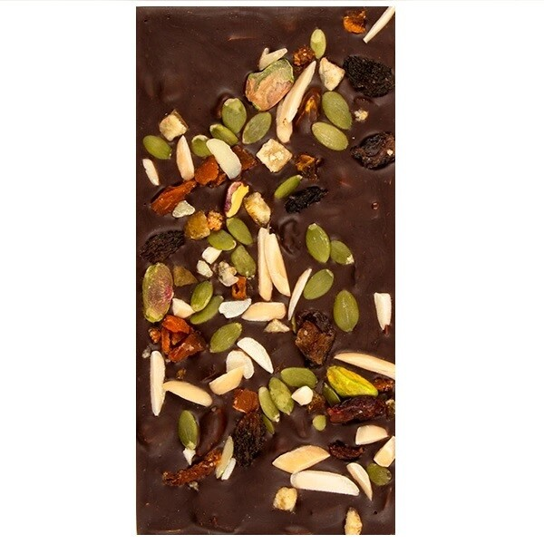 Zohran Mix Sliced Dry Fruits Chocolate 45g