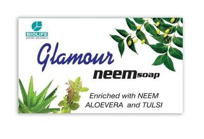 Biolife Herbal Glamour Neem Soap