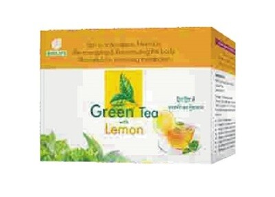 Biolife Green Tea With Lemon 25x2g