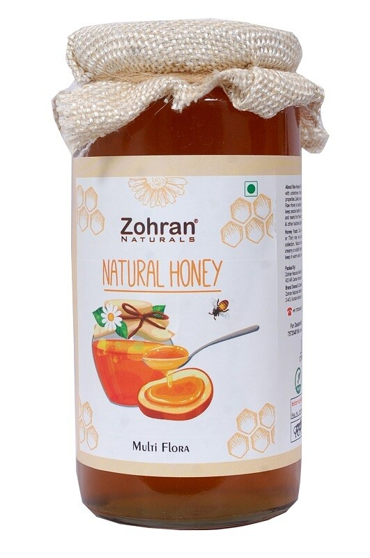 Zohran Natural Multiflora Honey 500g