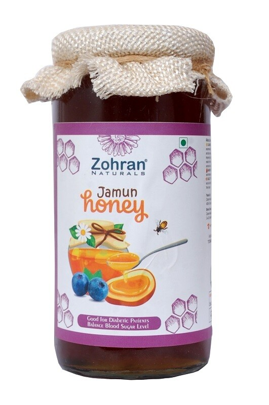Zohran Diabetic / Sugar Patient Jamun Honey 500g