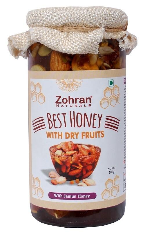 Zohran Honey With Mix Dry Fruits 500g