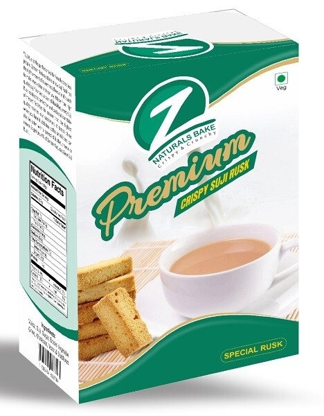 Bulk - Zohran Special Crispy Sooji Rusk 300g x 24pkt