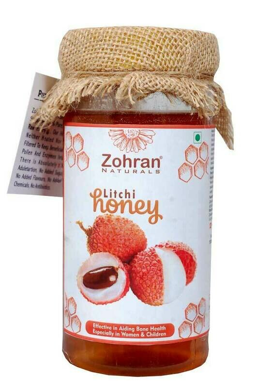 Zohran Natural Litchi Honey 500g