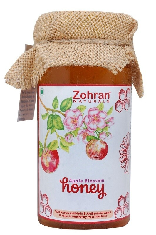 Zohran Natural Apple Blossom Honey 500g