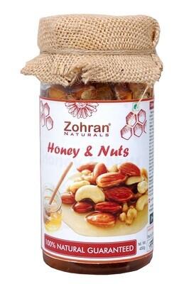 Bulk - Zohran Honey With Nuts 450g x 16pcs