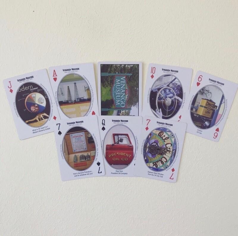 Venango Museum Historical Playing Cards