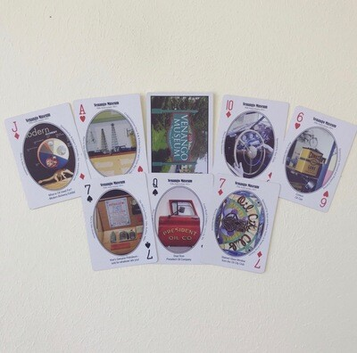 Venango Museum Historical Playing Cards