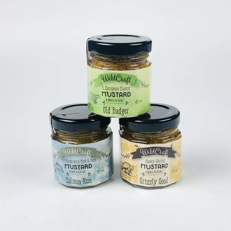 3 Pack of Wildcraft Organic Artisan Mustard