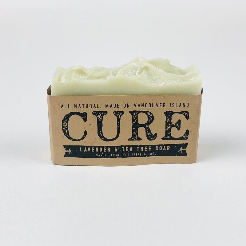 Lavender Tea Tree Natural Soap by Cure
