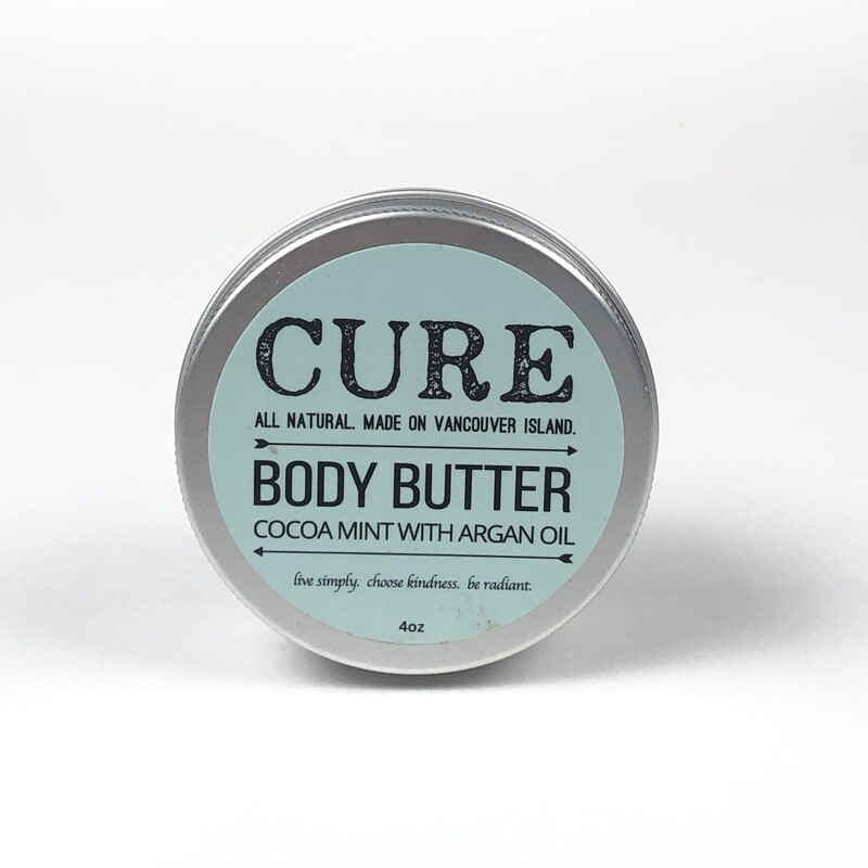 Cocoa Mint Body Butter (4oz) by Cure