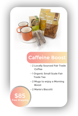 Caffeine Boost + Free Shipping in BC