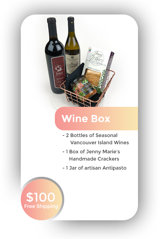 Wine Box + Free Shipping in BC