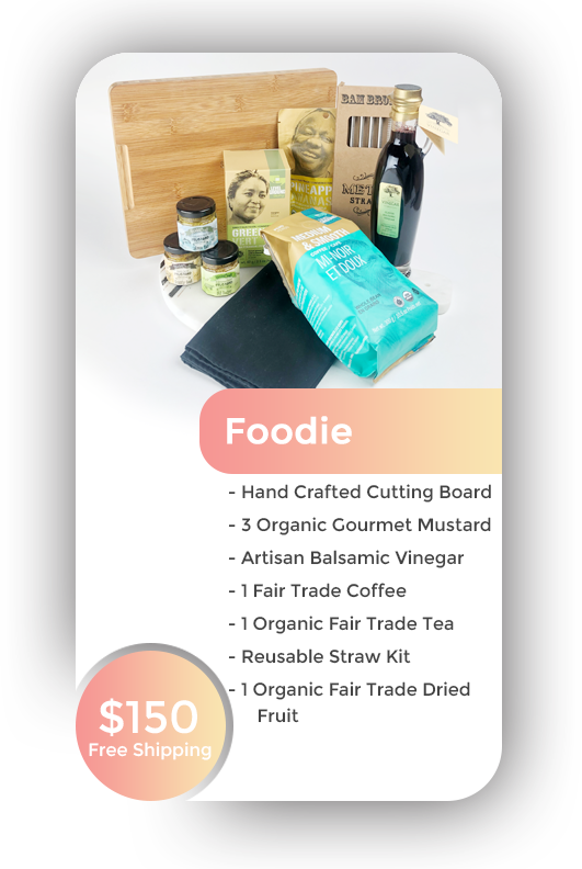 Foodie + Free Shipping in BC