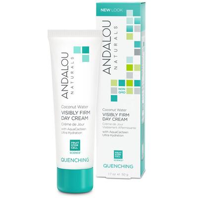 Andalou Naturals   Facial Moisturizer   Coconut Water   Firming
