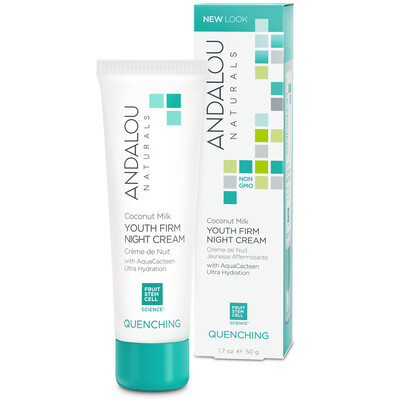 Andalou Naturals | Night Cream | Coconut Milk Youth | Firming