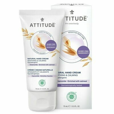 Attitude | Hand Cream | Sensitive Skin | Soothing and Calming | Chamomile