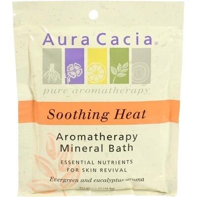 Aura Cacia | Aroma Bath | Soothing Heat