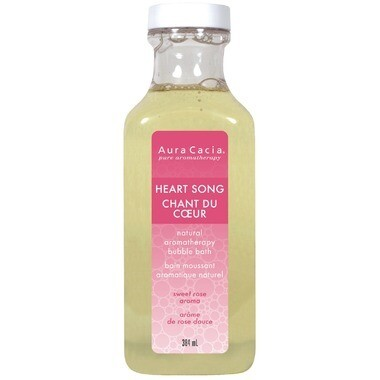 Aura Cacia | Bubble Bath | Heart Song