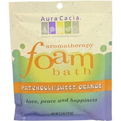 Aura Cacia | Foaming Bath | Patchouli & Sweet Orange