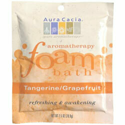 Aura Cacia | Foaming Bath | Tangerine & Grapefruit