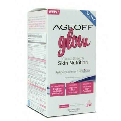 AgeOff   Glow Skin Nutrition   180 Capsules