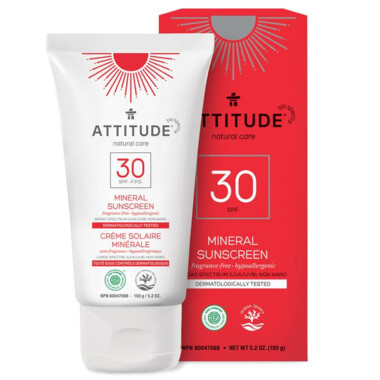 Attitude | Sunscreen | Lotion | Fragrance-Free | SPF 30