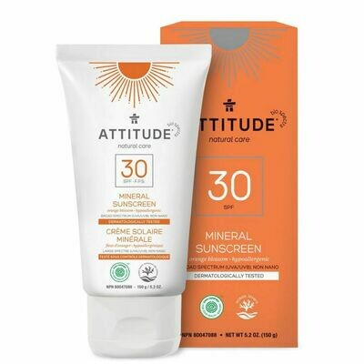 Attitude | Sunscreen | Lotion | Orange Blossom | SPF 30