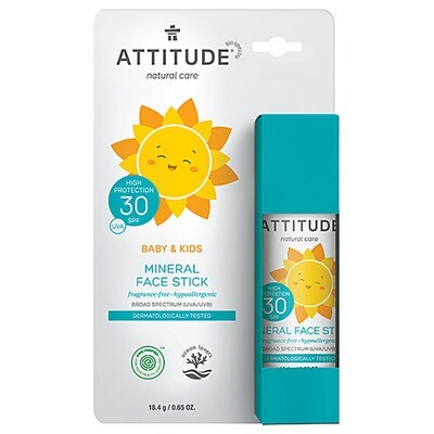 Attitude | Sunscreen | Face Stick | Little Ones | SPF 30