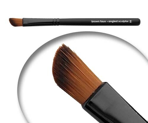 LUVU Beauty   Cosmetic Brush   Angled Sculptor