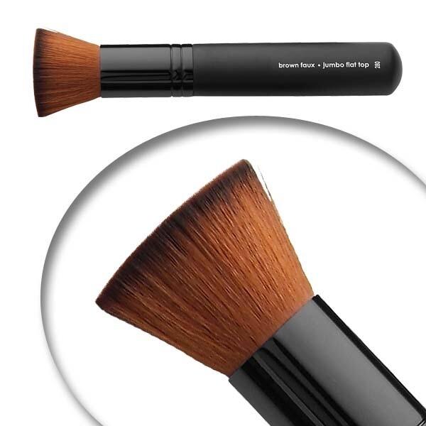 LUVU Beauty | Cosmetic Brush | Jumbo Flat Top