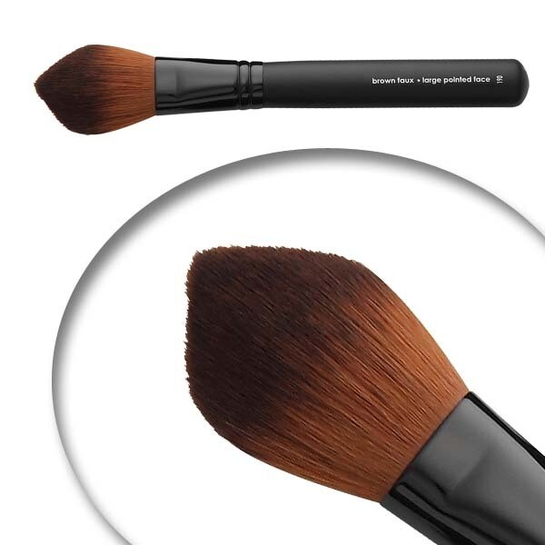 LUVU Beauty | Cosmetic Brush | Large Pointed Face