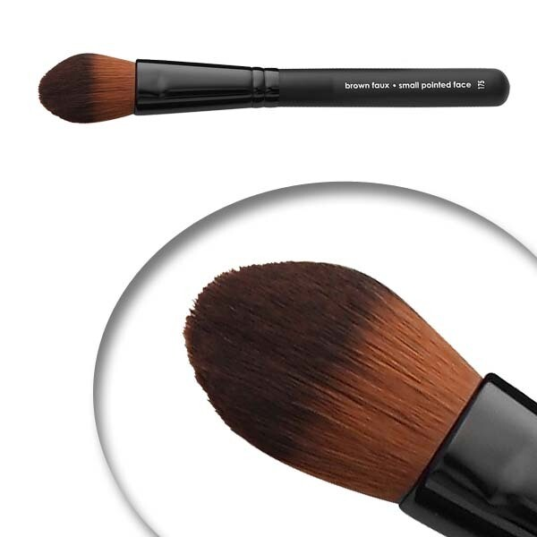 LUVU Beauty   Cosmetic Brush   Small Pointed Perfector