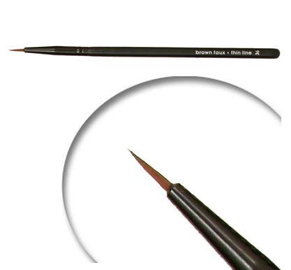 LUVU Beauty   Cosmetic Brush   Thin Line