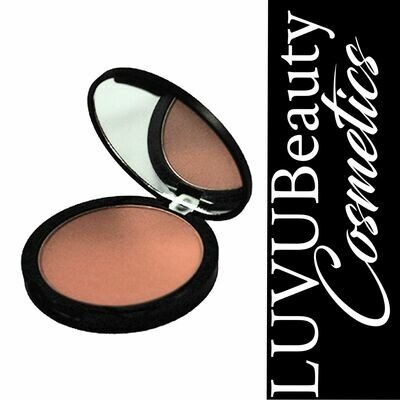 LUVU Beauty   Pressed Mineral Bronzer   Malibu