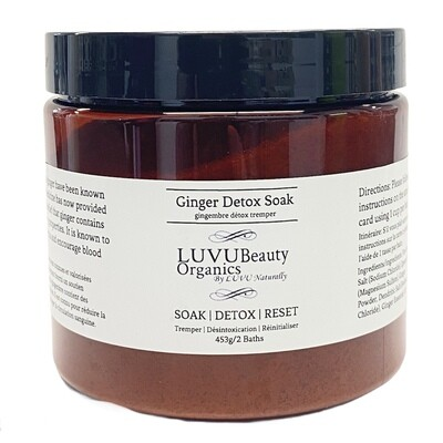 LUVU Beauty | Ginger Detox Bath