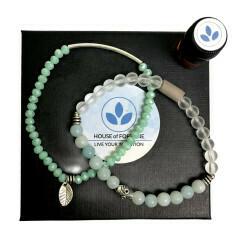 House Of Fortune | Double Aroma Bracelet | Amazonite