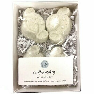 Soak & Sea | Bath Bomb Set | Mindful Monkey