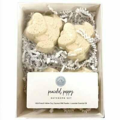 Soak & Sea | Bath Bomb Set | Peaceful Puppy