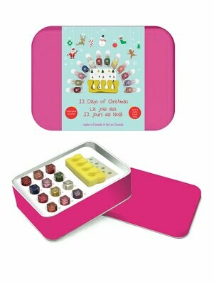 Suncoat Girl | Nail Polish Tin Set