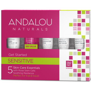 Andalou Naturals | Get Started Kit | Sensitive