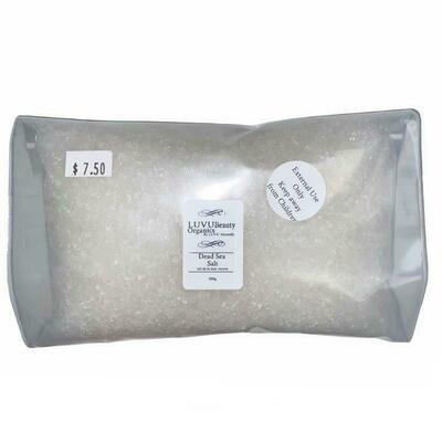 LUVU Beauty | DIY | Ingredient | Dead Sea Salt