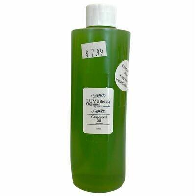 LUVU Beauty | DIY | Ingredient | Grapeseed Oil
