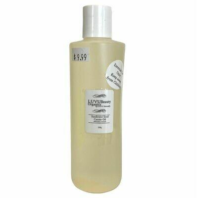 LUVU Beauty | DIY | Ingredient | Sunflower Seed Carrier Oil