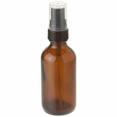 LUVU Beauty | DIY | Packaging | 2oz Amber Plastic Bottle w/Mister