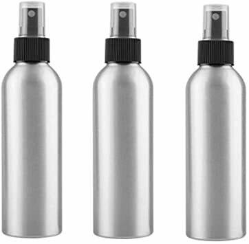 LUVU Beauty | DIY | Packaging | 8oz Aluminum Bottle w/Black Mister