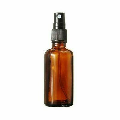 LUVU Beauty | DIY | Packaging | 1oz Amber Plastic Bottle w/Mister
